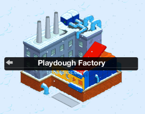 Playdough Factory not in use