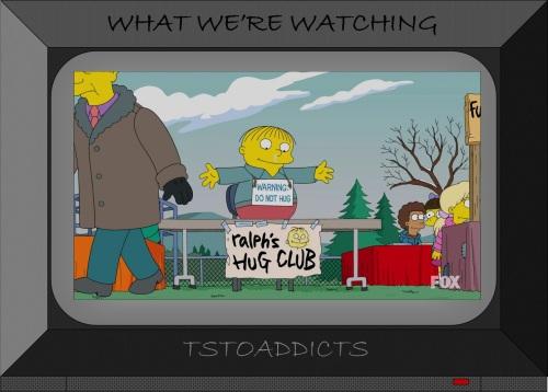 Ralph's Hug Club Simpsons
