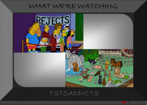 Rejects & Lisa Simpson Home for Abandoned Animals