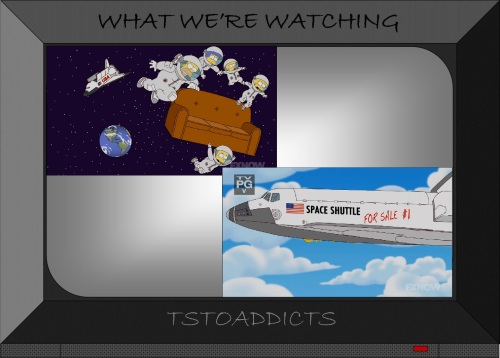Space Shuttle Simpsons