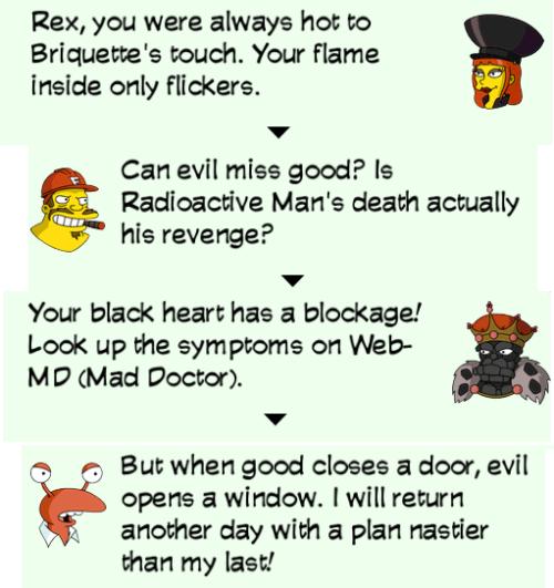 TSTO Supervillain Dialogue