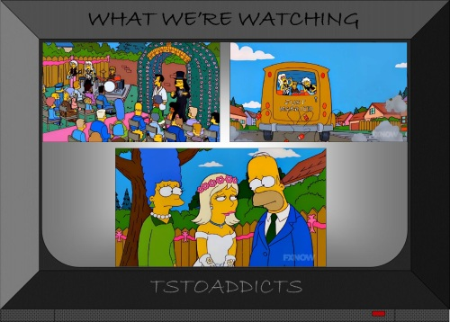Becky & Otto's Wedding Simpsons 2