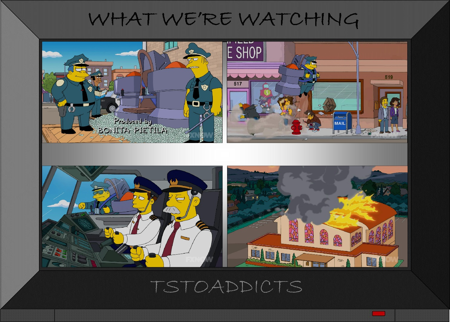 Where did that come from la belle frottagethe simpsons tapped out addictsall things the - Police simpsons ...