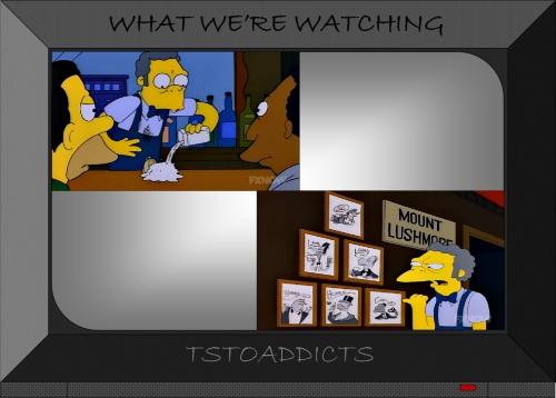Sugar Prank Mount Lushmore Moe's Simpsons