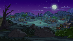 The Outlands Simpsons