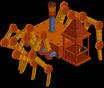 araña mecanica de frink