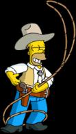 homer_cowboy_practice_lassoing