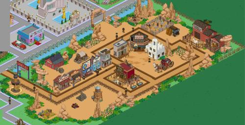 Springfield showoff wild westthe simpsons tapped out for West out of best ideas