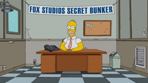 THE SIMPSONS: Homer Simpson in a scene from the ÒSimprovisedÓ episode of THE SIMPSONS airing Sunday, May 15 (8:00-8:30 PM ET/PT) on FOX. THE SIMPSONS ª and © 2016 TCFFC ALL RIGHTS RESERVED. CR:FOX