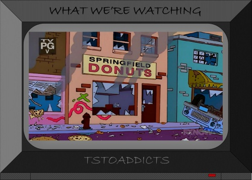 Donut Shop Springfield Donuts Simpsons