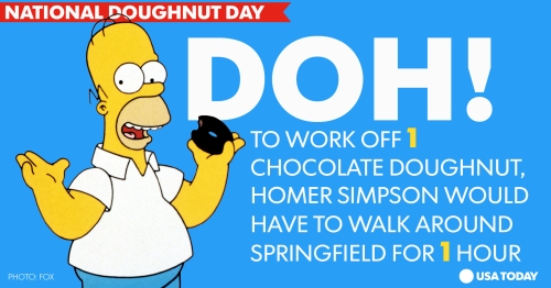 Homer Donut Day 2