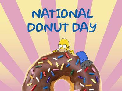 Homer Donut Day