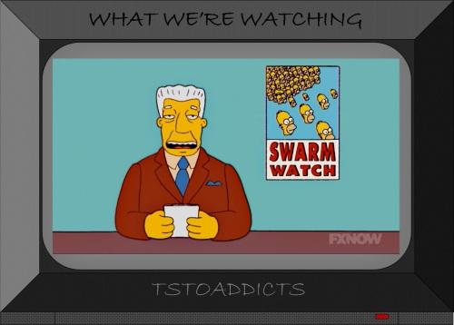 Kent Brockman Homer Swarm Watch