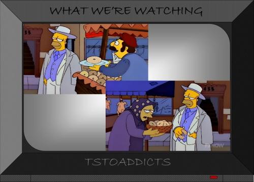 Mafia Homer Donuts Simpsons
