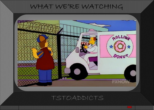 Rolling Donut Truck Simpsons