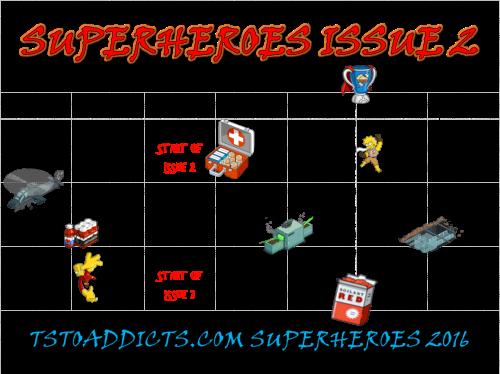 Superheroes 2 Issue 2 Calendar
