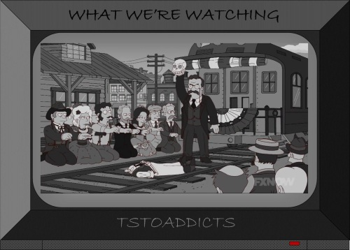 Theodore Roosevelt Simpsons