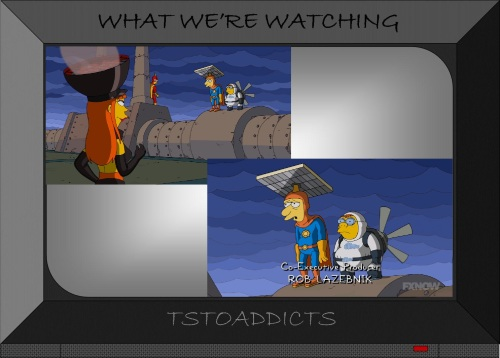 Citizen Solar & Wind Lad Simpsons