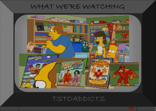 Comic Book Guy Android's Dungeon Radioactive Man Stuff Simpsons