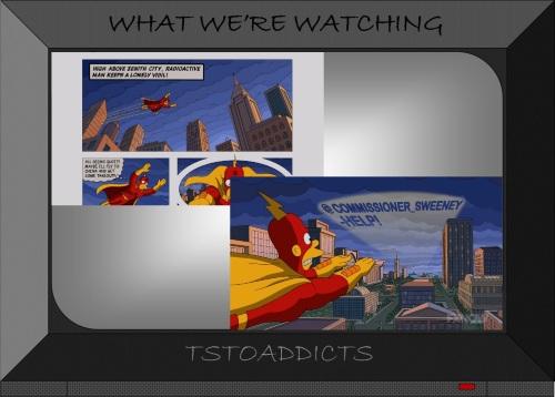 Death of Radioactive Man Comic Simpsons