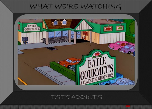 Eatie Gourmet's A Place for Groceries Store Simpsons