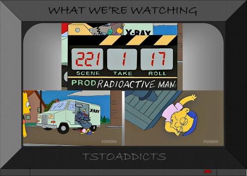 Fallout Boy Origin Radioactive Man Movie X-Ray Truck Simpsons