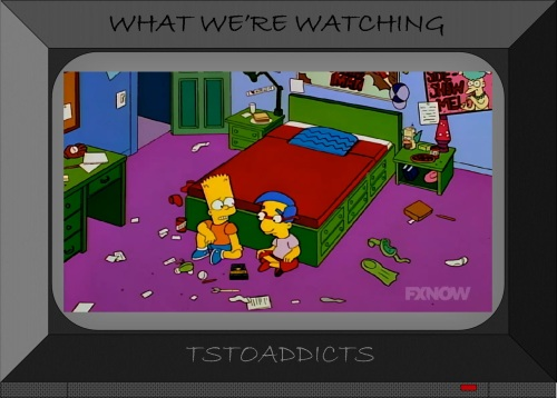 Milhouse's Bedroom Radioactive Man Poster Simpsons