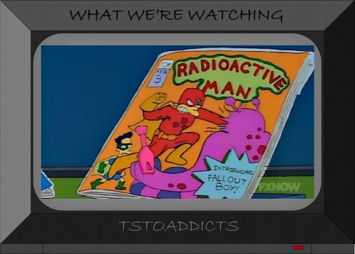 Radioactive Man Comic #9 Introducing Fallout Boy Simpsons