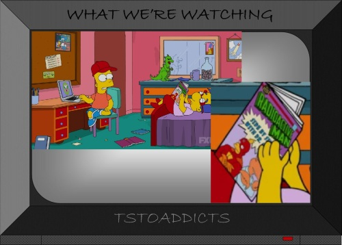 Radioactive Man Comic with Dr. Crab Simpsons