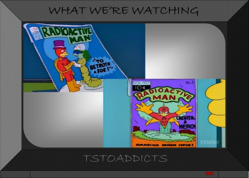 Radioactive Man Comics #1 Amazing Origin & #72 To Betroth A Foe Simpsons