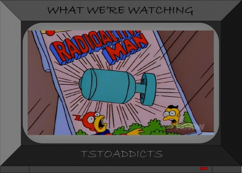 Radioactive Man Simpsons