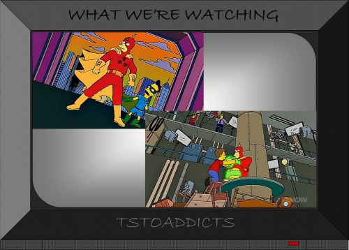 Radioactive Man TV SHow & Movie Simpsons