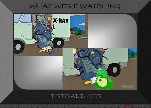 X-Ray Truck Milhouse Simpsons