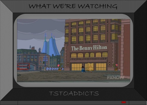 Benny Hilton Skyberdine Systems Dalek Simpsons