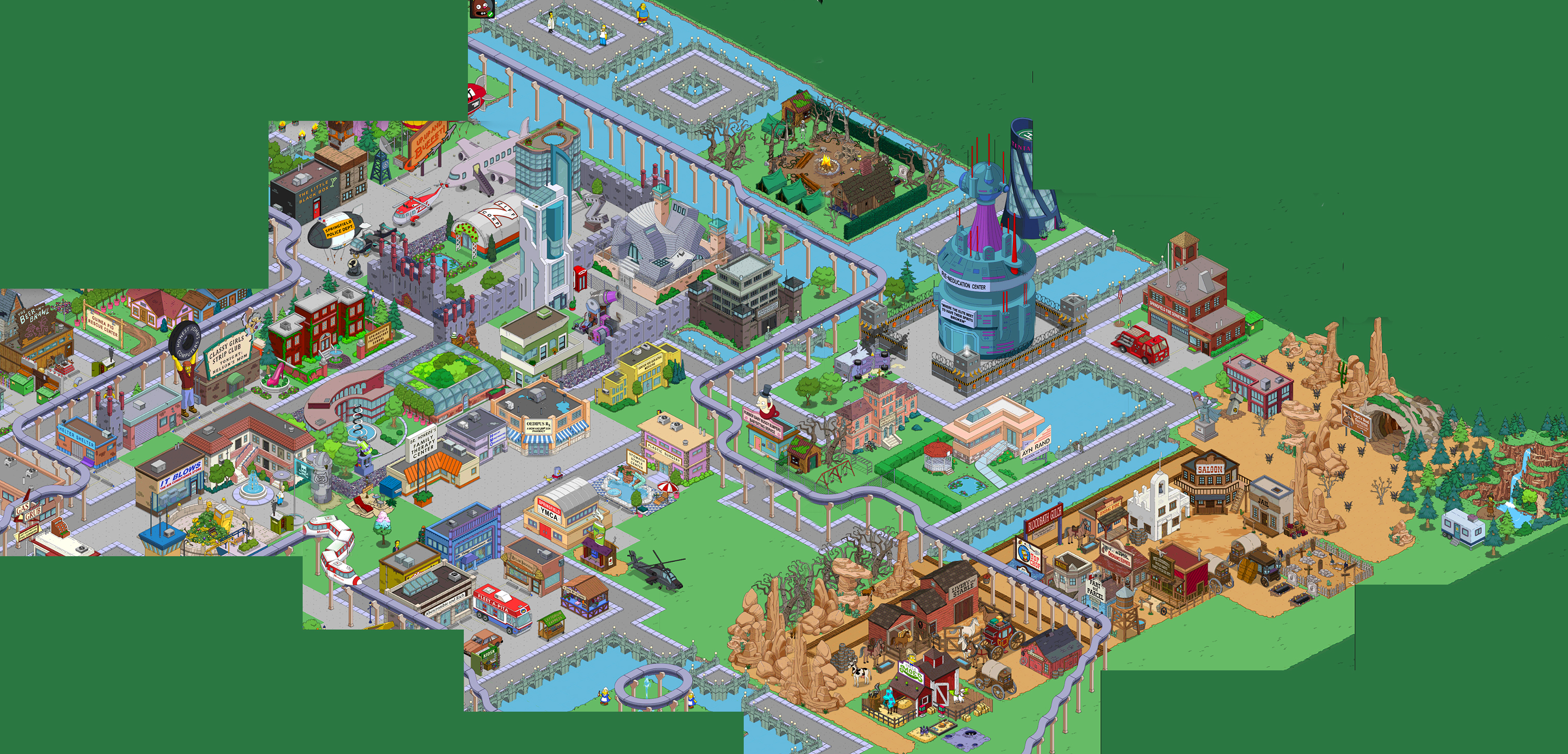 Land Tapped Size Out Simpsons Update