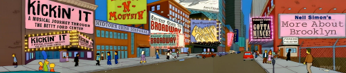 Ernest Goes to Broadway Kickin It David Copperfield's Astonishing Girlfriend Simpsons