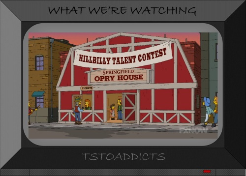 Hillbilly Talent Contest Springfield Opry House Simpsons