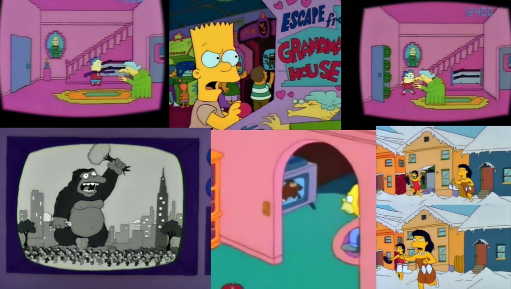 """Totbox's Throwback Thursday: S2 E1 Bart gets an """"F""""The ...Black Bart Simpson Do The Right Thing"""