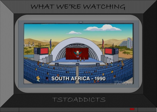 Krusty South Africa 1990 Amphitheatre Simpsons
