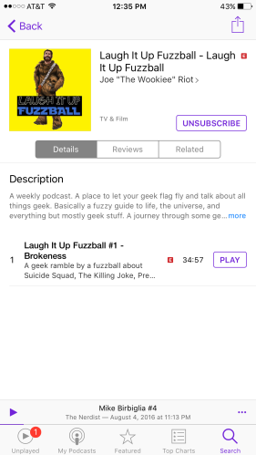 Laugh It Up Fuzzball iTunes