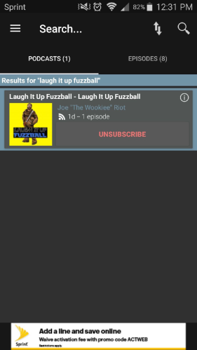 Laugh It Up Fuzzball Podcast Addict