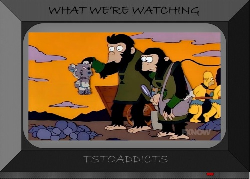 Planet of the Apes Bobo 1,000,000 A.D. Simpsons