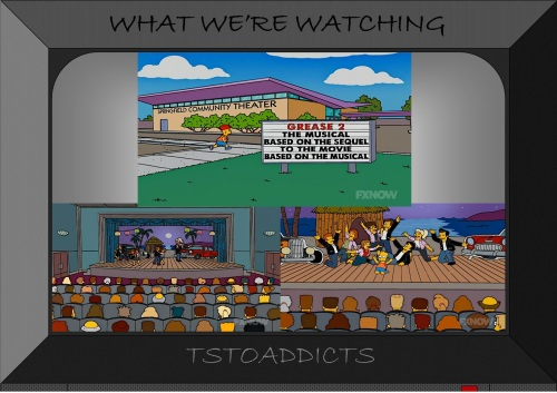 Springfield Community Theater Grease 2 The Musical Simpsons