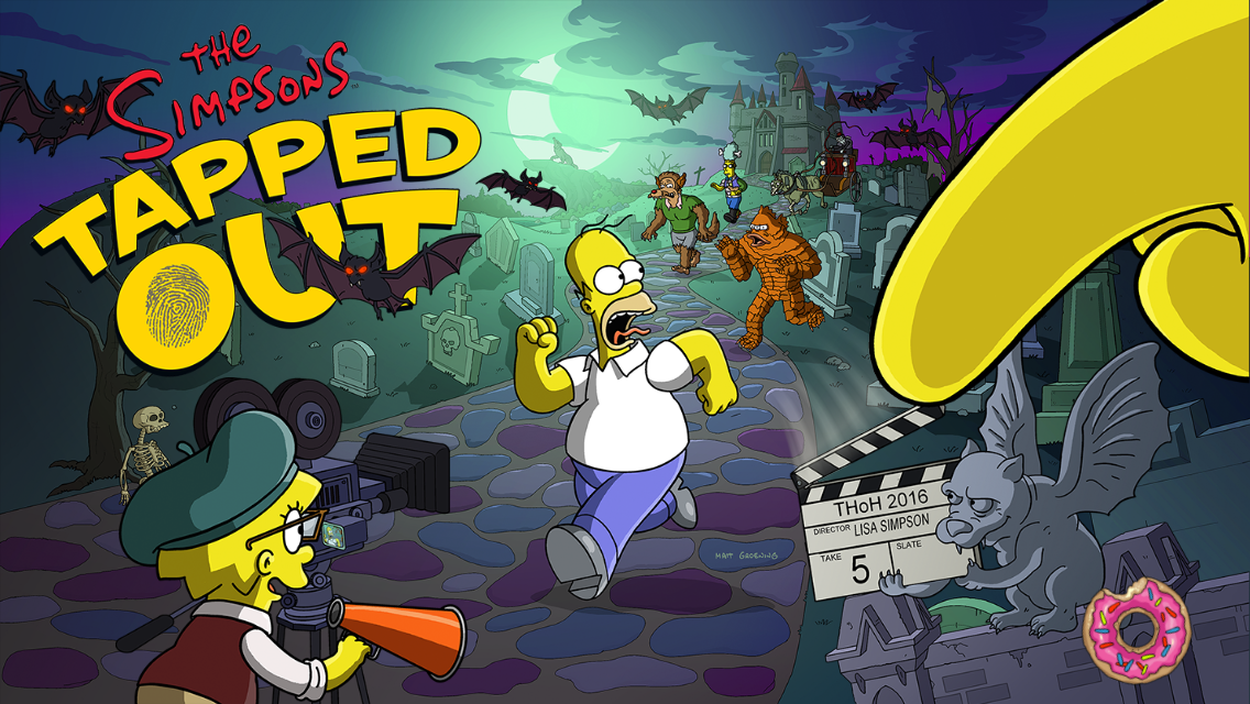 2016 Halloween Eventthe Simpsons Tapped Out Addictsall