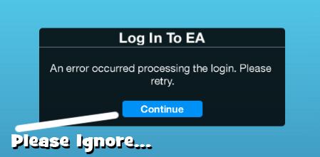 Ea Origin Server Error