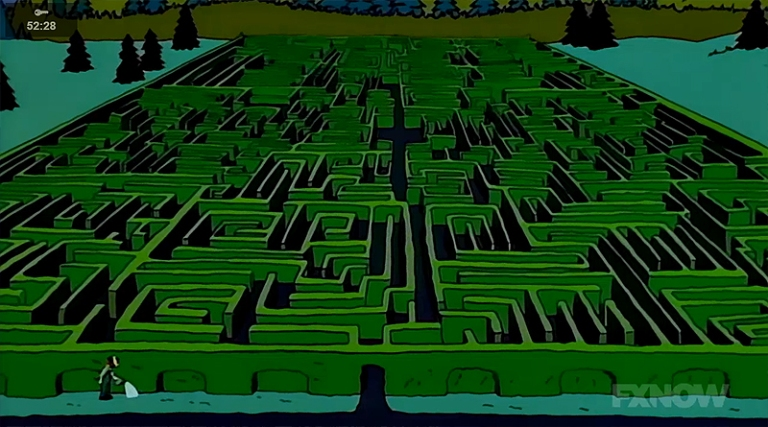 Image result for the maze in the shining