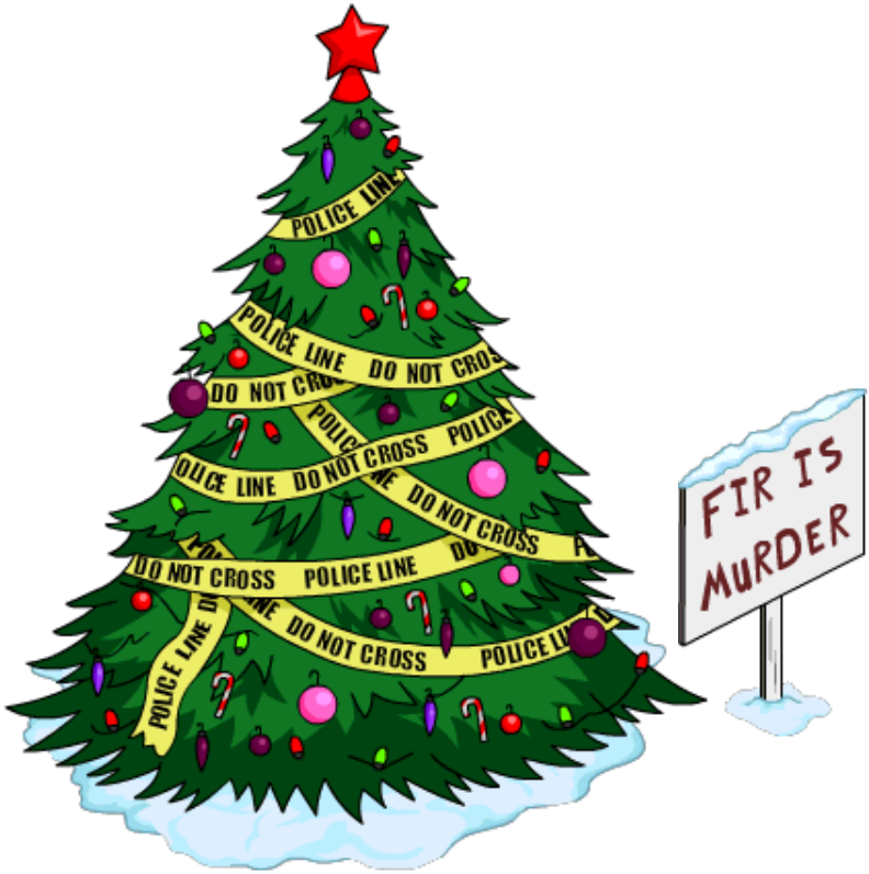 Where Does Christmas Trees Come From: Where Did THAT Come From- Fir Is Murder TreeThe Simpsons