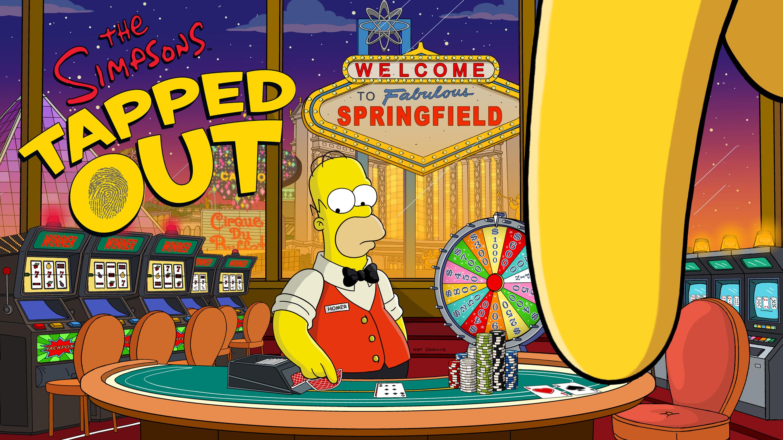 simpson springfield casino
