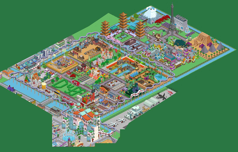 Картинка города спрингфилда