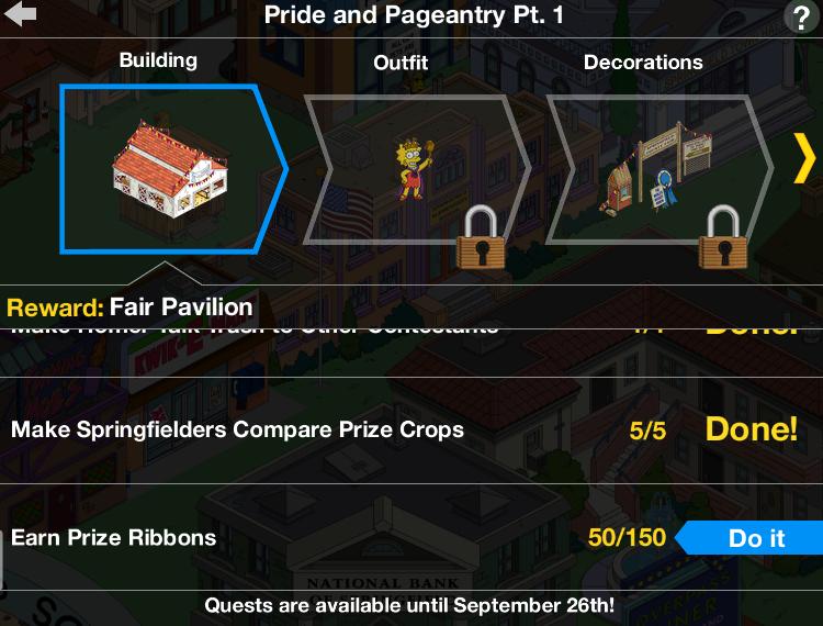 County Fair 2017 Prize Breakdown: Fair PavilionThe Simpsons